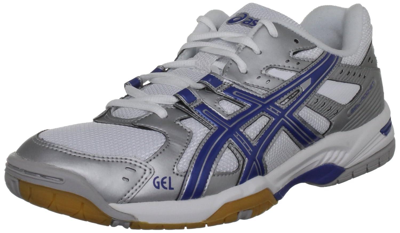 Asics Herren Gel Rocket M Gymnastikschuhe  42.5 EU|Silver/Blue/White