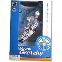 "Wayne Gretzky McFarlane Legends 12"" Figure Edmonton Oilers White Jersey photo"