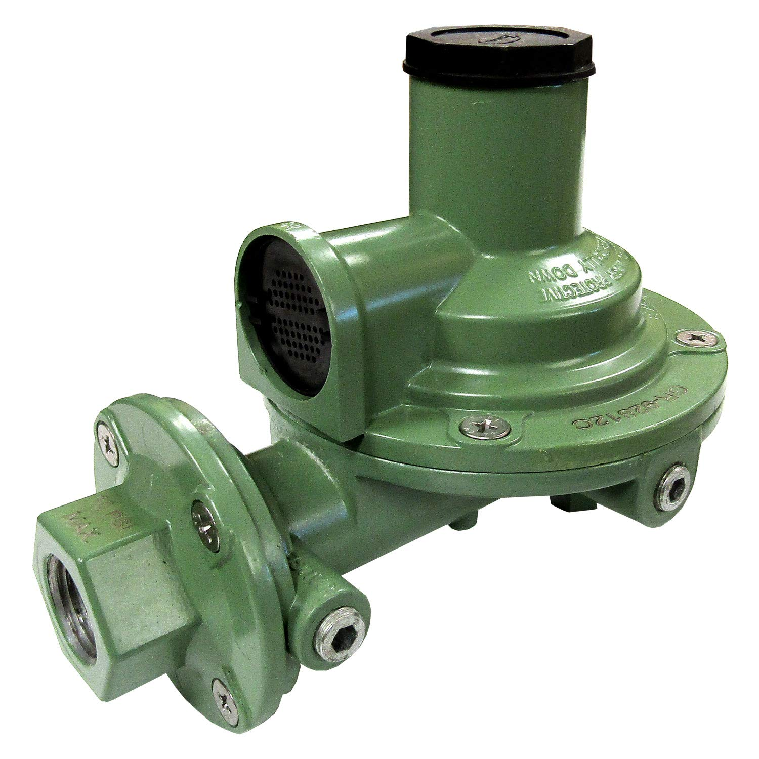Fairview GR-92812C Compact Second Stage Low Pressure Propane Regulator