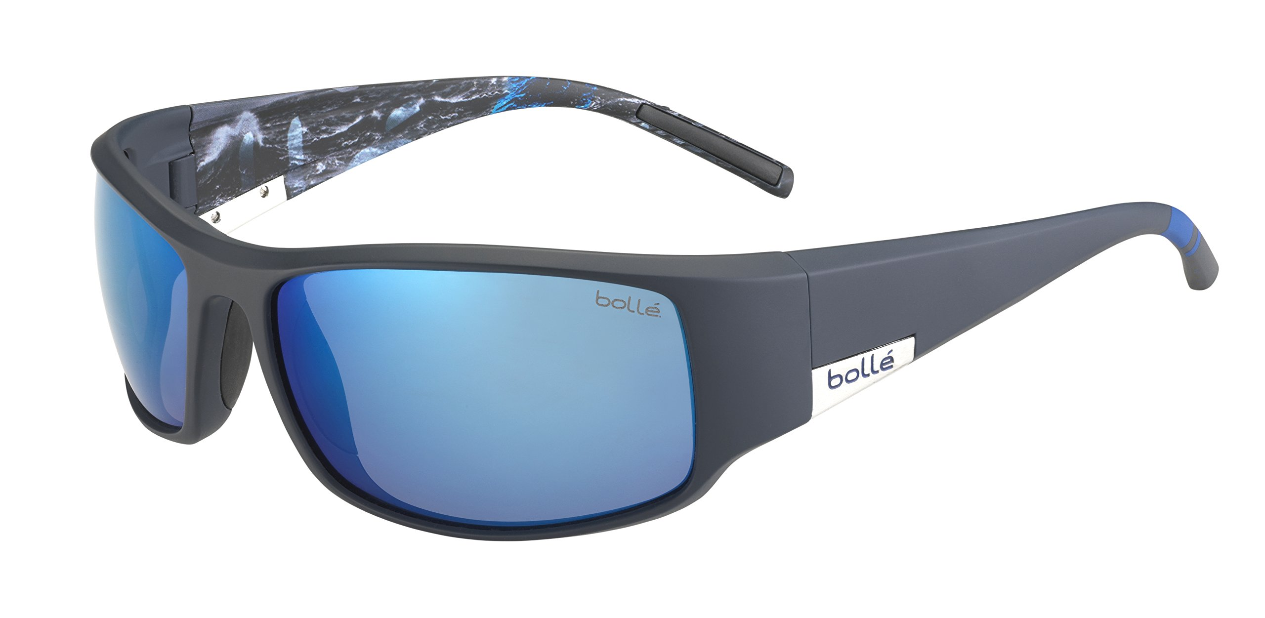 Bolle King Polarized Offshore Blue Oleo AF, Matte Blue Sea by Bolle