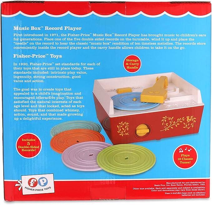 Amazon.com: Juguete Fisher Price grabadora clásica ...