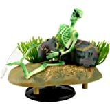 Saim® Drunken Pirate Skeletons Live Action Aquarium Ornaments w/Bonus