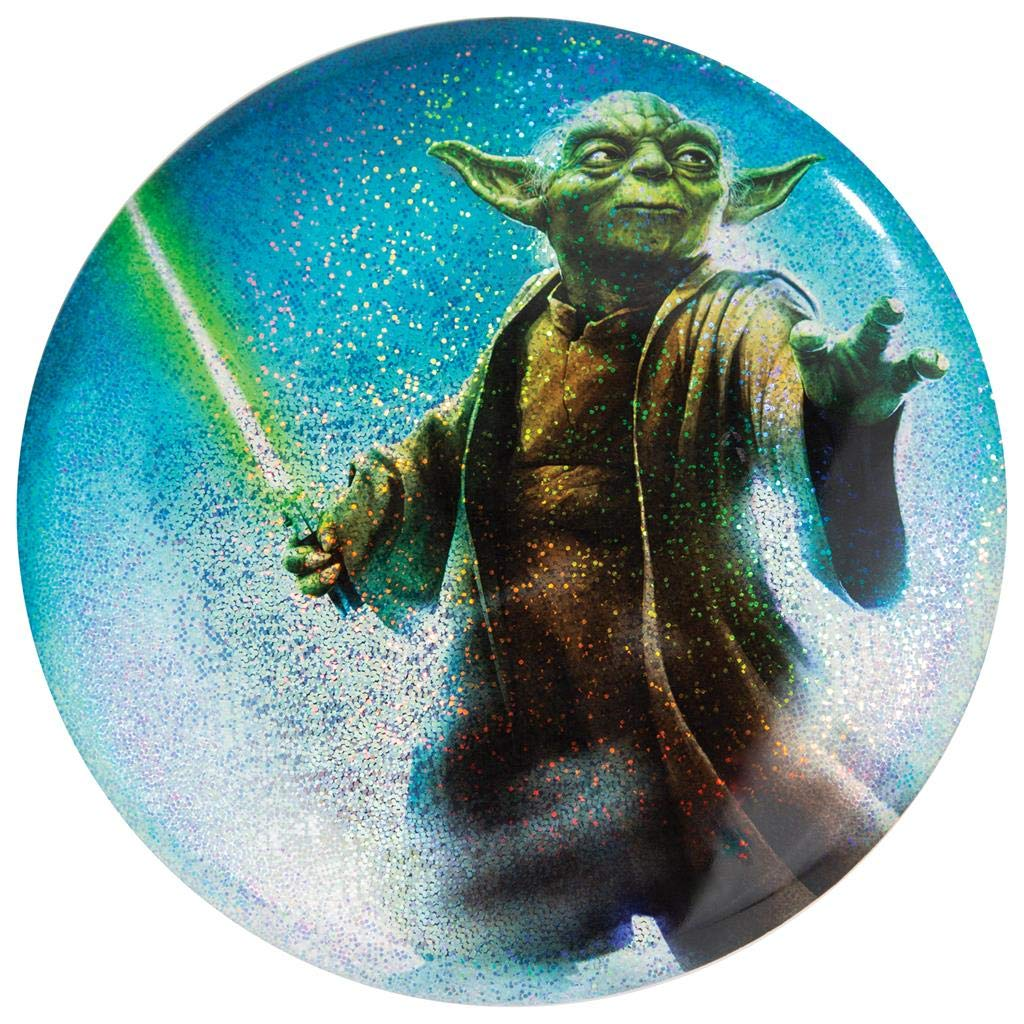 Discraft Star Wars Full Foil Sparkle Prism Yoda Supercolor ESP Buzzz Midrange Golf Disc - 177-178g by Discraft