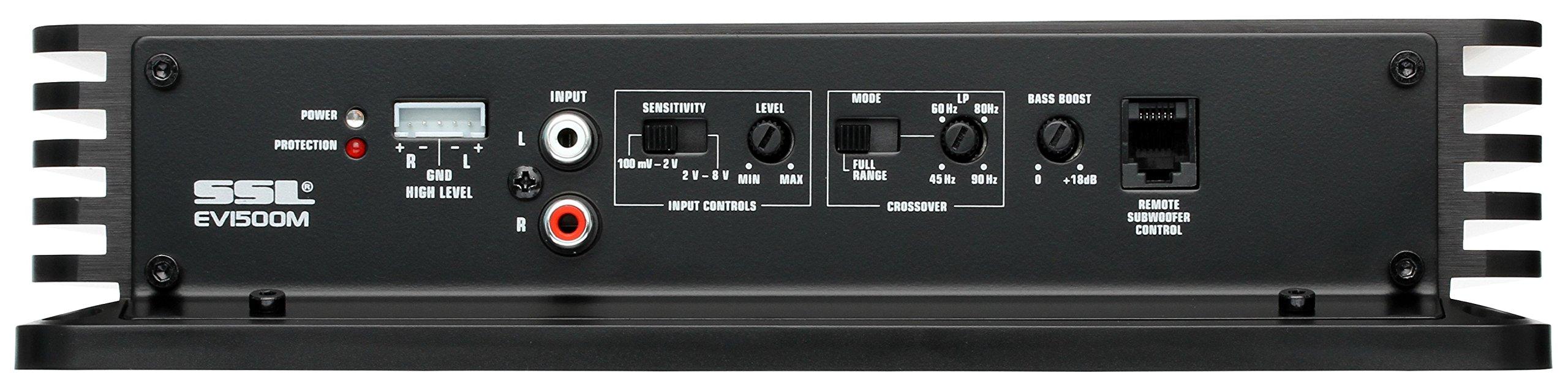 Sound Storm EV1500M Evolution 1500 Watt, 2 Ohm Stable Class A/B, Monoblock, MOSFET Car Amplifier with Remote Subwoofer Control by Sound Storm Laboratories (Image #3)