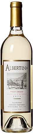 2013 Albertina Gold Medal Winner Quentin's Reserve Pinot Grigio 750 mL Wine