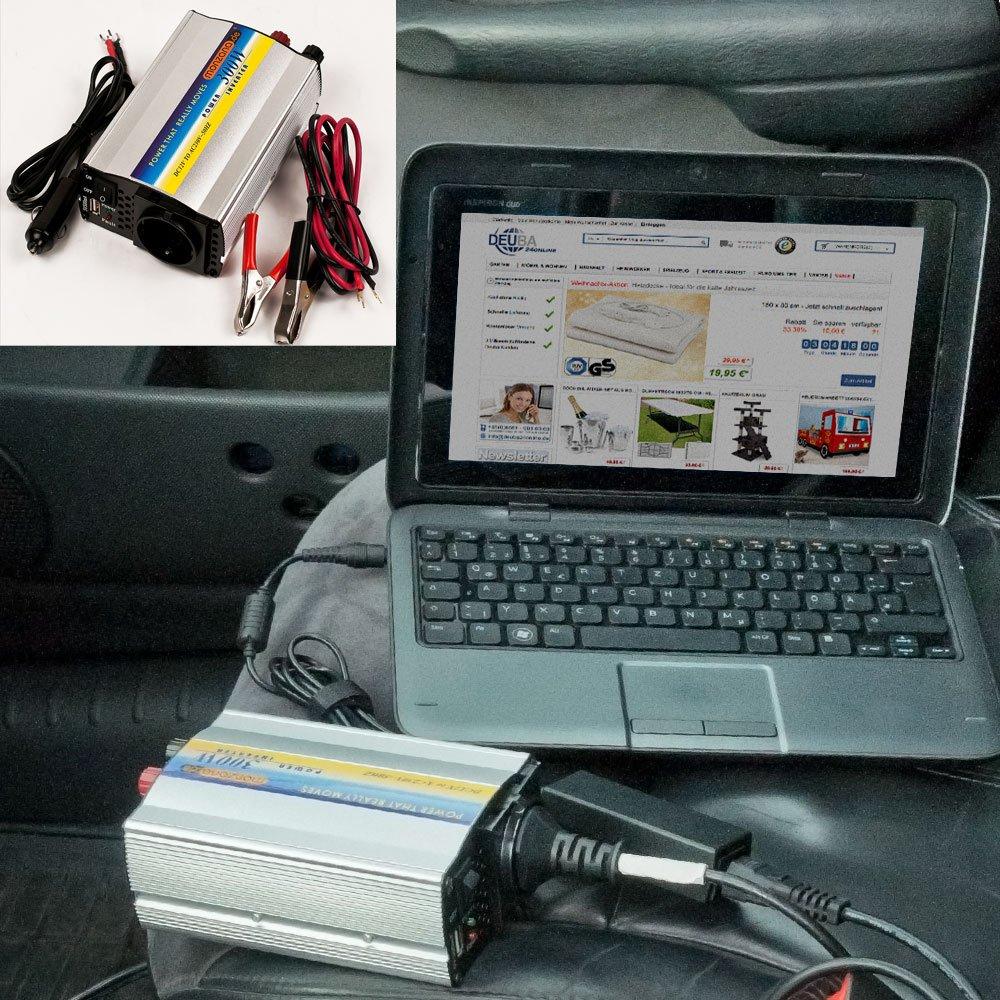 Spannungswandler Wechselrichter Stromwandler Inverter KFZ Auto 150/300W 12V-230V USB 5V - Modellwahl Deuba