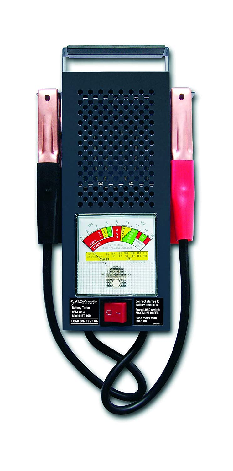 Schumacher Bt 100 Amp Battery Load Tester Automotive Marquette Charger Wiring Diagram