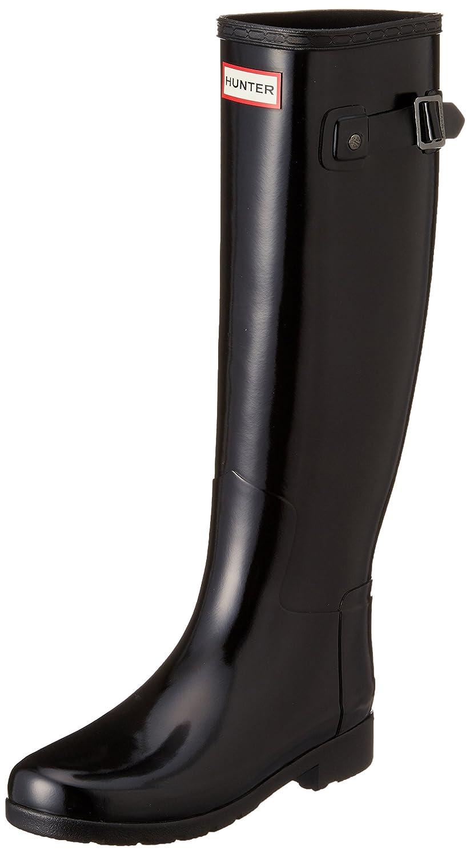 Hunter Womens Original Tall Refined Gloss B014ESJ64O 8 B(M) US|Black