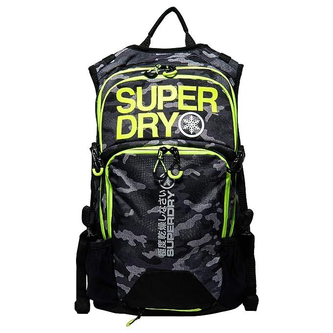 Superdry a mochila ultimate Snow Rescue 20L Camo, color Vert Camo, tamaño talla única: Amazon.es: Deportes y aire libre