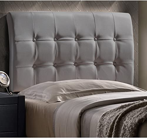 Hillsdale Lusso Faux Leather Upholstered Queen Panel Headboard