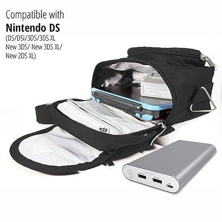 Amazon.com: Orzly Bolsa de viaje para Nintendo DS Consoles ...