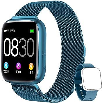 BANLVS Smartwatch, 1.4 Inch Reloj Inteligente IP67 con Pulsómetro ...