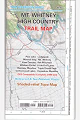 Mt. Whitney High CountryTrail Map (Tom Harrison Maps) Map