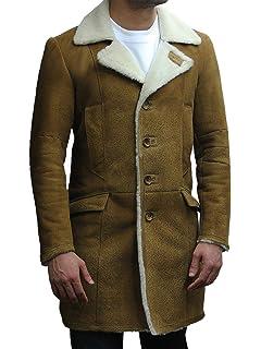 Coat Long En Man Peau De En Duffle Peau Absy De Mouton Navy Mouton qUSVpzM