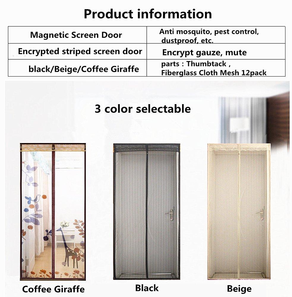 Pixiu Xp Magnetic Screen Door High Grade Anti Mosquito Curtain