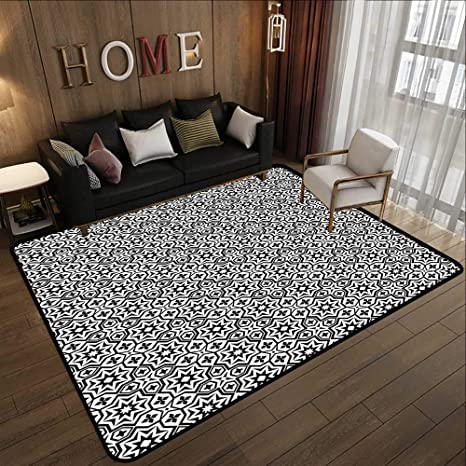 Amazon.com: Silky Smooth Bedroom Mats,Black, Old Antique ...