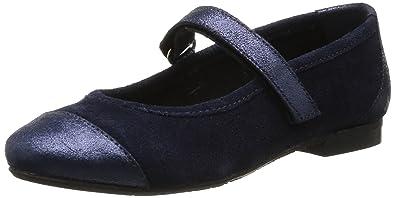 Yep Abella, Mädchen Ballerinas Blau Bleu (CrouteCroute Lam
