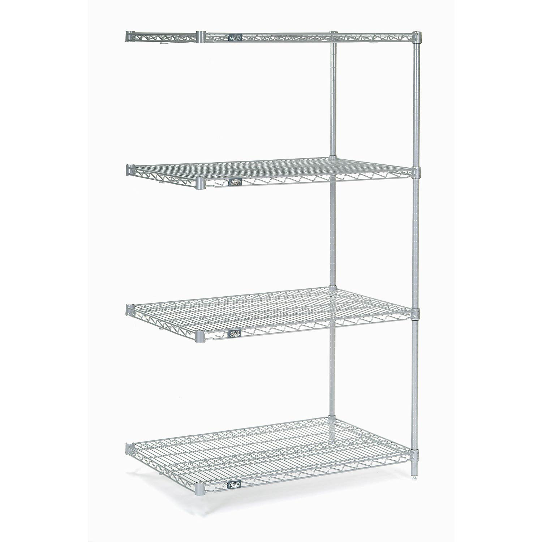 Amazon.com: Chrome Wire Shelving Add-On, 24\