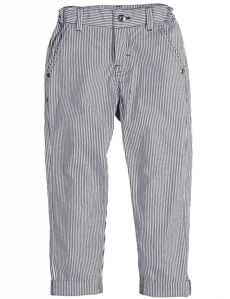 Petit Lem Boys Space Boy Striped Pants