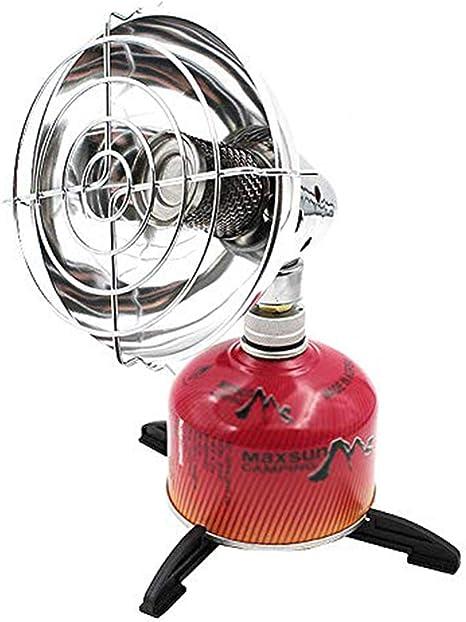Dream-cool Camping Mini Estufa de calefacción al Aire Libre portátil Calentador de Gas Estufa de calefacción otoño e Invierno Camping Pesca Tienda ...