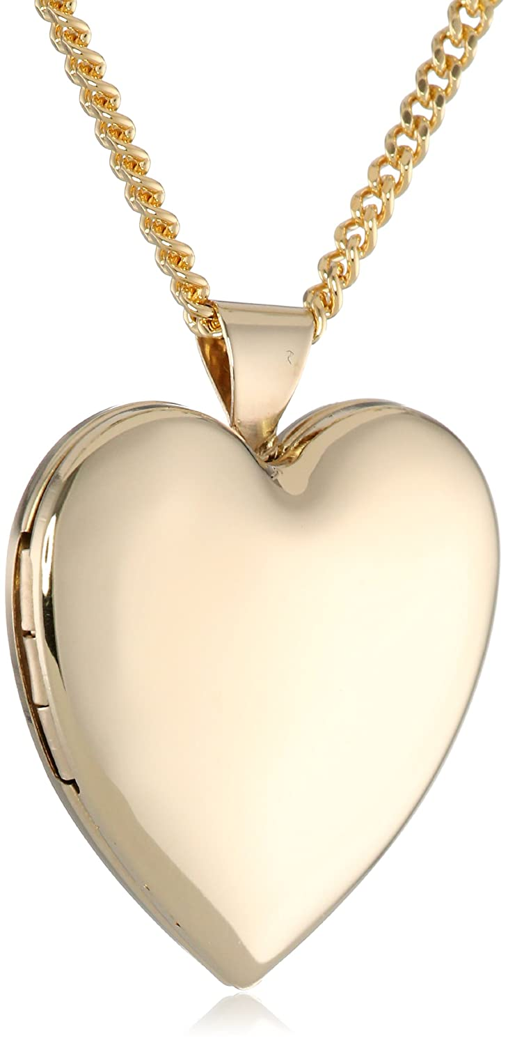 itm gold locket hj with shape pendants chain heart diamond chains lockets