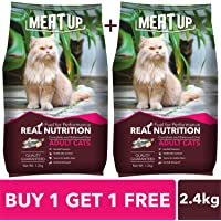 Meat Up Adult Cat Food, Ocean Fish - 1.2 kg Pack