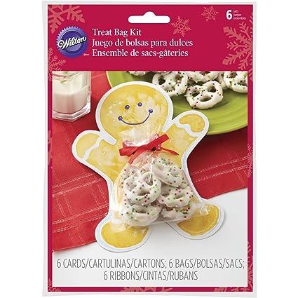 Amazon.com: Wilton Gingerbread Boy Treat Gifting Kit ...