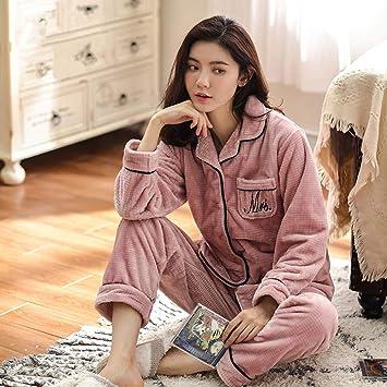 WANG-LONG Ropa De Dormir Batas Mujer Camisón Camisones Conjunto De Pijamas Ropa De Noche