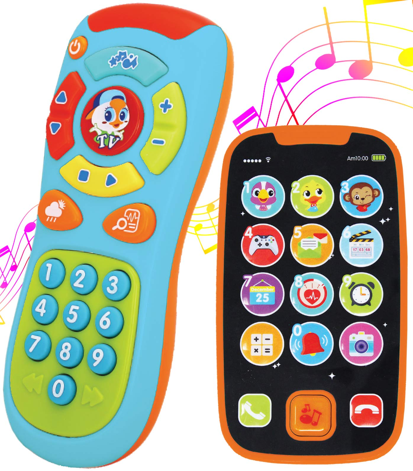 SYNCFUN Learning Remote and Phone Bundle with Music, Fun, Smartphone Toys by SYNCFUN