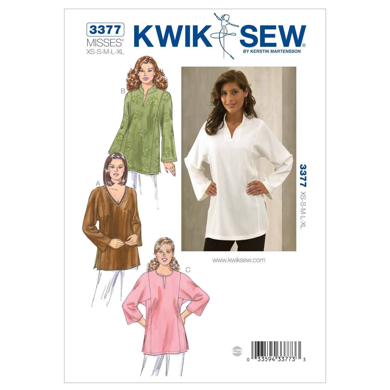 Amazon kwik sew k3377 tunics sewing pattern size xs s m l xl amazon kwik sew k3377 tunics sewing pattern size xs s m l xl arts crafts sewing jeuxipadfo Choice Image