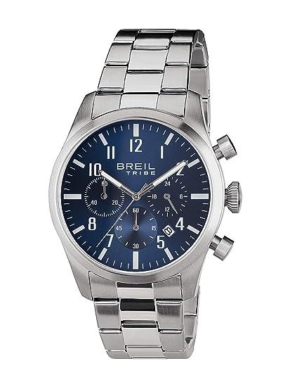 BREIL Reloj Tribe Classic Elegance Hombre Azul Acero - EW0226: Amazon.es: Relojes