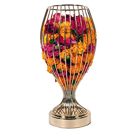 Buy Inllex Royal Look Metal Flower Holder Stand Antique Flower Vase Flower Plant With Pot For Home And Office Decoration Online At Low Prices In India Amazon In