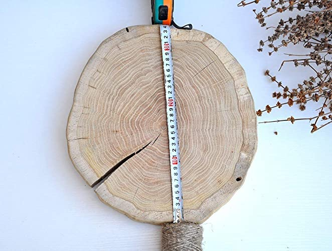 Amazoncom 1260x1340 Oak Wood Slice Bark Free Wedding Wood