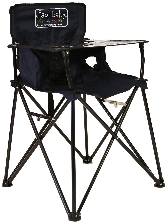 Amazon.com : ciao! baby Portable Travel Highchair, Navy ...