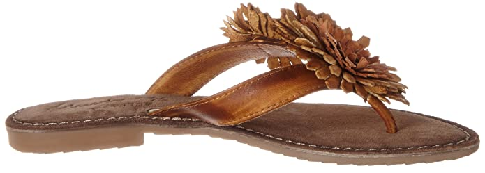 Mustang Damen 3125-801-307 Zehentrenner, Braun (307 Cognac), 36 EU