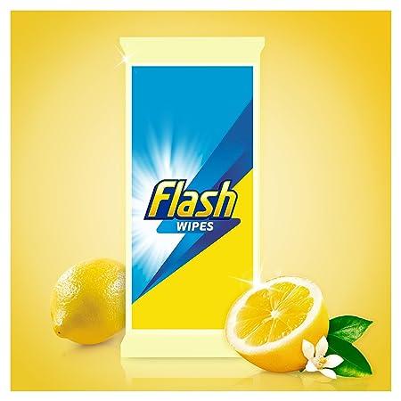 Flash antibacteriano toallitas, 120 cuenta, pack de 4: Amazon.es: Salud y cuidado personal