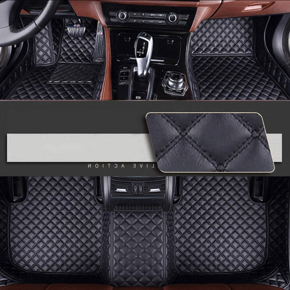 Tailored Fit Black Boot Liner Tray Car Rear Floor Mat Cover for BMW X3 11-17
