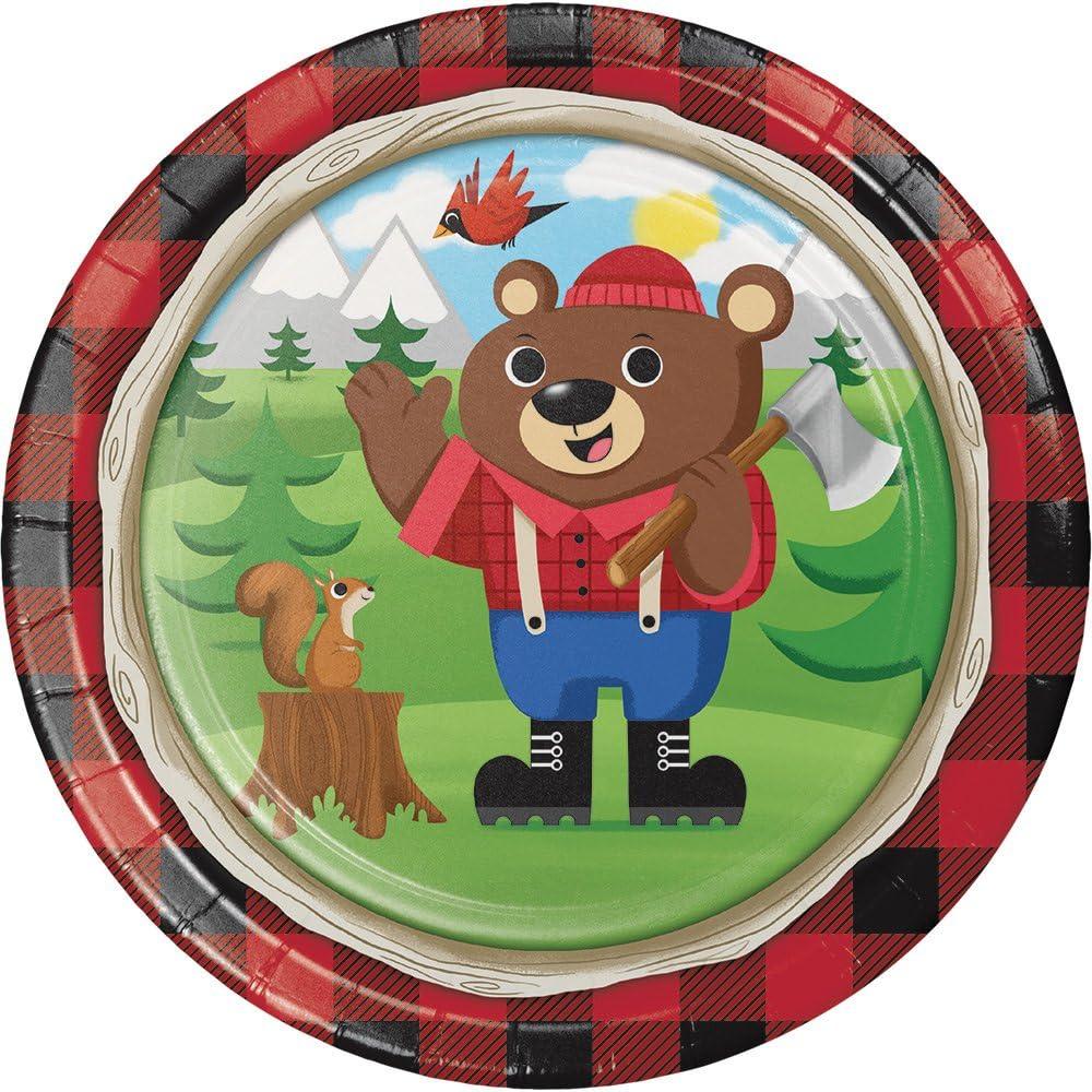Lum-Bear-Jack 18 18 Creative Converting 322321 10 Count Metallic Balloon
