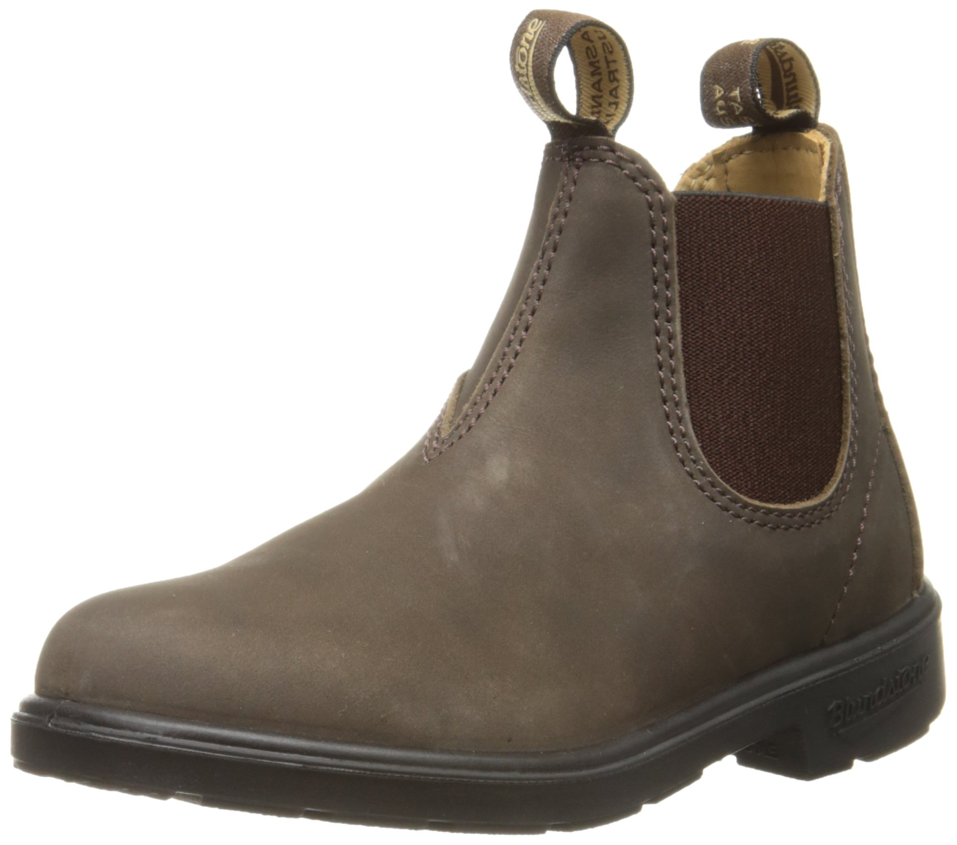 Blundstone 565 Pull-On Chelsea Boot (Infant/Toddler/Little Kid/Big Kid), Rustic Brown, 1 AU(2-2.5 M US Infant)