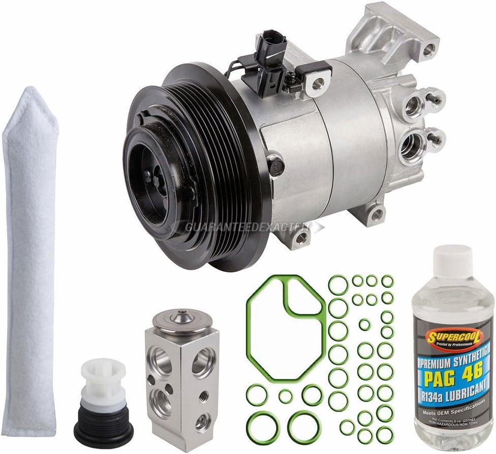 For Kia Soul 1.6L 2010 2011 OEM AC Compressor w//A//C Repair Kit BuyAutoParts 60-84414RN NEW