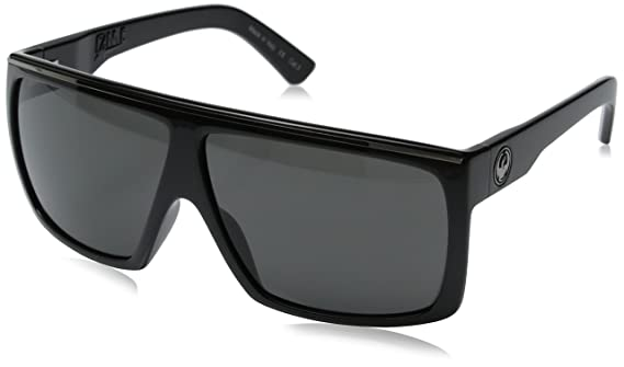 Amazon.com  Dragon Alliance Fame Sunglasses (Jet with Grey Lens)  Sports    Outdoors fd0bb3b509