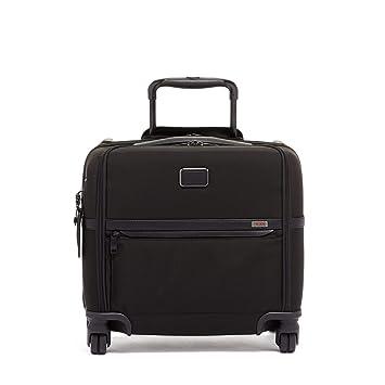 e19cb099e Amazon.com: TUMI - Alpha 3 Carry-On 4 Wheeled Laptop Compact Brief Briefcase  - 15 Inch Computer Case for Men and Women - Black: TSOL Designs
