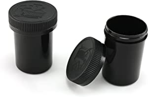 Skyway Viper Waterproof Airtight Smell Proof Stash Box Odor Sealing Container with Child Resistant Cap 4 OZ - Set of 2