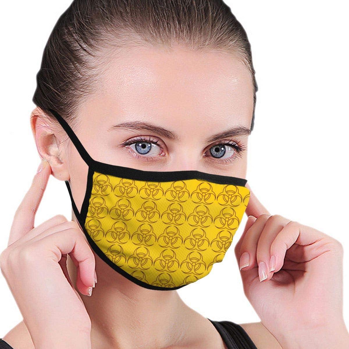 Kireishojo - Máscara bucal Unisex Antipolvo, repetición de Riesgo biológico, Lavable, Reutilizable, a la Moda, cómoda, Antipolvo, Media Cara, para Mujeres, Hombres y Adolescentes