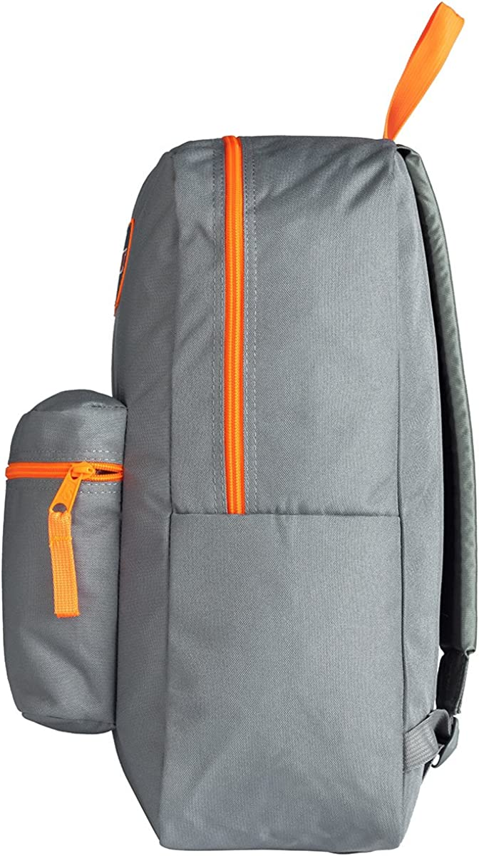Jansport Overexposed Shady Grey Fluorescent Orange T08W0CT
