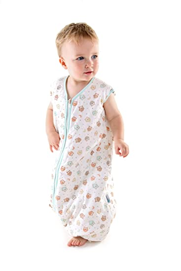 Amazon.com: Slumbersafe Winter Sleeping Bag With Feet 3.5 Tog Simply Owl 3-4 years: Baby