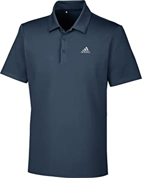 adidas Golf Mens 2018 Ultimate 365 Solid Polo Shirt - Collegiate Navy - S