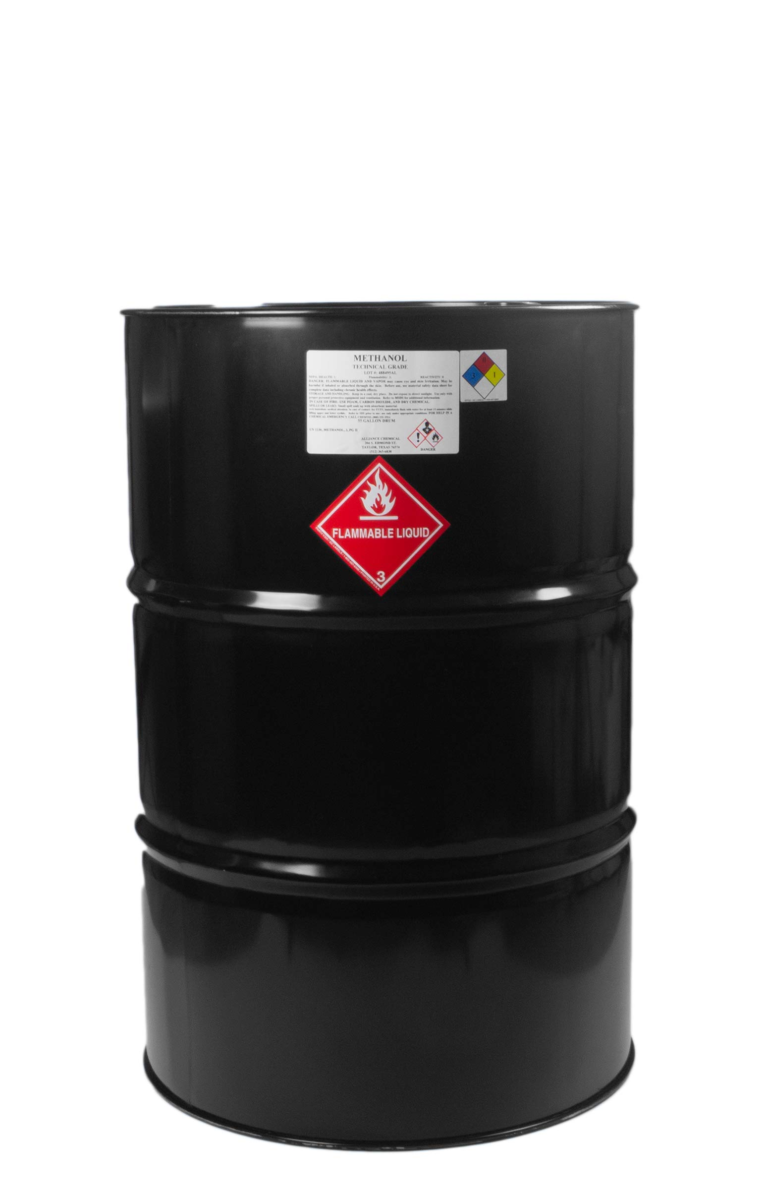 Methanol Technical Grade 55 Gallon Drum