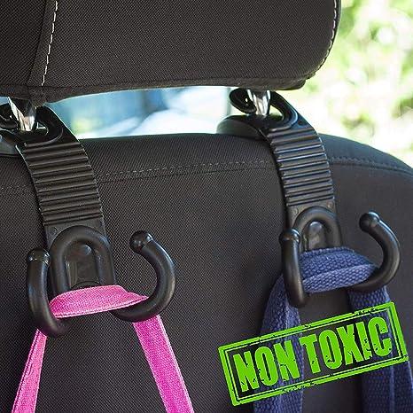 Amazon.com: Lipctine - Perchero de asiento trasero de coche ...