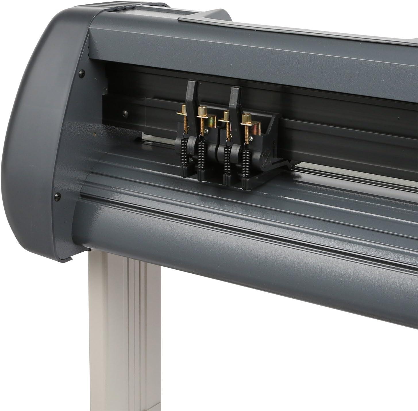 VEVOR Plotter de Corte de Corte Plotter Cámara Vinyl Cutter Plotter Cutting Plotter Machine with Artcut Pro Software 30/45/60 Degree Vinyl Blades 53 Inch: Amazon.es: Electrónica